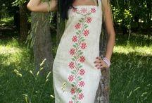 suknie słowiańskie