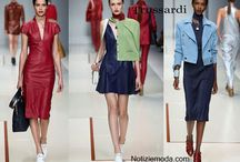 Trussardi / Trussardi collezione e catalogo primavera estate e autunno inverno abiti abbigliamento accessori scarpe borse sfilata donna.