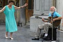 Lovely couples! / Elderly people who do not lose the love and joy. / by Anka Petrova