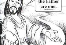 Memory Verse coloring sheets / Have a child in our Children's Church program?  These coloring sheets will help them to work on their memory verses.