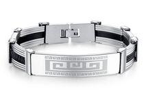 Geometric Charm Bracelets