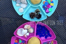 Playdough Ideas / Little ones love playdough. Here are a few of our favourite ideas for playdough.