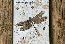 Stempelkaarten vlinder