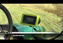 Ajo-opastimet / GPS ajo-opastimella helpotat ja tarkennat peltotyöskentelya, samalla säästät aikaa, tuotantopanoksia sekä ympäristöä.