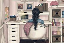 Kız duvar kağıtları