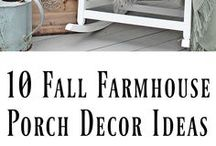 fall porch galore