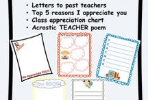 teacher appreciation / by Annette Williams