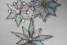 Tiffany snowflakes
