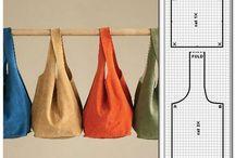 сумки / выкройки и просто модели сумок
