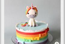 Torte decorate bimbi