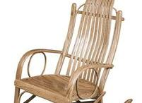Amish Rocking Chairs / For the nursery, living room or front porch, genuine Amish made rocking chairs, rockers and gliders add a charming and comforting touch.