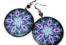 Mandala Art / Mandala Art Jewelry; Colorful mandalas, New Age jewelry / by BluKatDesign