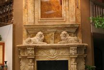 Fireplaces / Fireplaces by Carved Stone Creations.