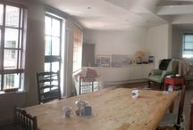 Melbray 1st floor pre build / view of dining area before build works start
