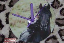 horse clocks