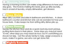 Binder: Housekeeping (how to clean....ect.) / by Kindy Monroe