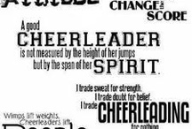 Cheerrrr(: / by Stephanie Willis