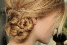 Hair ideas that i want to do but keep failing at:) / by Pretty Little Sparks