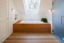 Home - Bathroom / by Kate Wagstaff