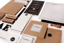 Branding Identity & Stationery / Brand & corporate identity, coordinate image & stationery (writing materials and office supplies): business card, letter paper and letterhead, envelope, folder, letterpress, & relief printing. #identity #stationery #brand #logo