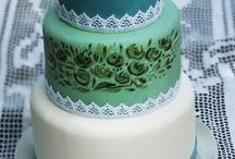 esküvői torták, wedding cakes by me / saját készítésű torták, tortatervek  http://krumplicukrok.blogspot.hu/search/label/menyasszonyi%20torta
