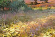 Krajobrazy w malarstwie