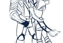 Dota: Sven and Crystal Maiden