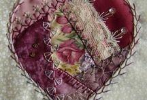 Crazy quilt & embellishments