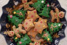christmas / Christmas cookies in new season villeroy boch plate