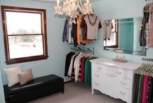 Closet's Improvisados / Na falta de espaço,a criatividade resolve.