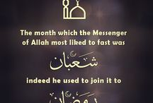 Fasting / Ramadan blessings  / by QuranReading.com