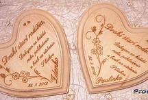 Wedding engraving