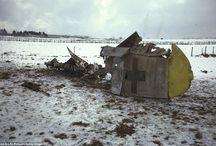 Shot down / Wrecked aircraft WW II