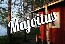 Majoitus / Accommodation / Suomi Tourin majoitusvinkit / Finland travel tips: Accommodation