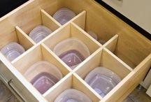 Drawers design / Kitchen drawers