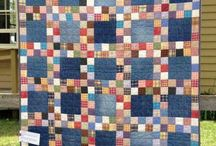 Patchwork----Recycled Jeans & Shirts