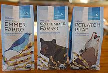 """Our New Look! / We are very excited to reveal our new look! The new design reflects the """"wild"""" place we call home. """"Local characters"""" on the packages represent those that co-exist with us on our farm. New recipes along with simple to read cooking instructions and a host of new cooking ideas can be found on each package."""