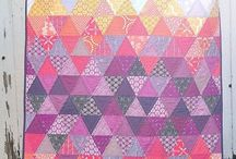 bright and colourful quilts