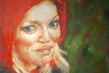 oil portrait / ritratti ad olio, portrait, oil on canvas