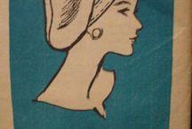 Vintage hats, bags & accessories