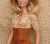 Barbie vestiti uncinetto e maglia
