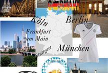 Mein Deutsch / Impressionen aus Deutschland, Österreich und aus der Schweiz