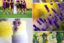 Yellow Weddings / weddings with yellow color scheme / by Amanda Elkins - Bellamanda Photography