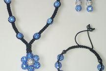 Shamballa - diy / Shamballa ékszerek (karkötő, óra, gyűrű, szett) DIY - by Hajnaéka