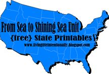 Sea to Shining Sea / by Heart for Homeschooling