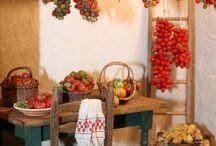 italian miniature kitchen