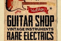 Guitar Shops From Around The World / Who doesn't like browsing and playing guitars and guitar gear you'd love to buy! Here is a selection of shops from around the world when you have a few hours of and your kicking your heels!