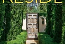 RESIDE® / RESIDE® magazine, honored with the coveted Hermes Platinum Award for outstanding design and editorial creative excellence, celebrates the creative fusion of home, art and living. Each issue allows readers to tour some of the most extraordinary homes around the world and gain key insights into the vitalizing elements of art and real estate.