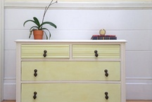 Dressers, Vanities, Armoires, Tables, and more / by Lindsey Polanyi