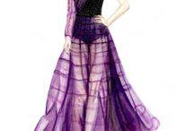 illustrations of fashion